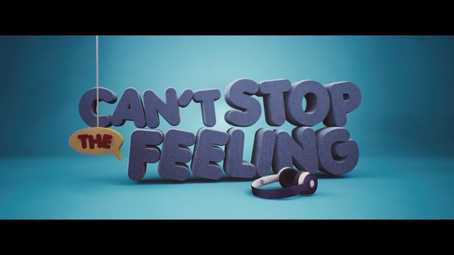 Short animation film Can't stop the feeling