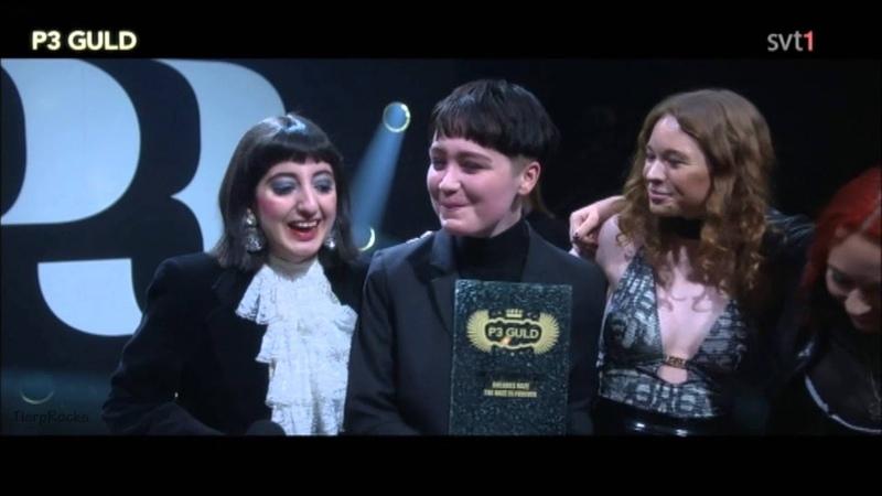 Dolores Haze vinnare av Årets Rock Metal på P3 Guld 16 januari 2016 The Haze is Forever