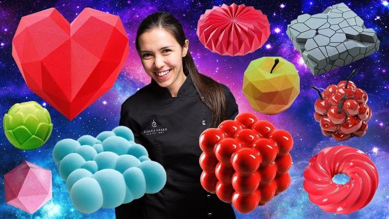 Фантастичні десерти Динари Касько які здивували світ