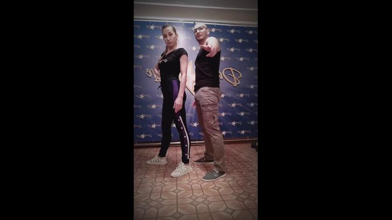 САЛЬСА в Самаре   Денис Новиков и Анастасия Павленко   Оставайся дома   DANCE and LIVE   Самара   2020