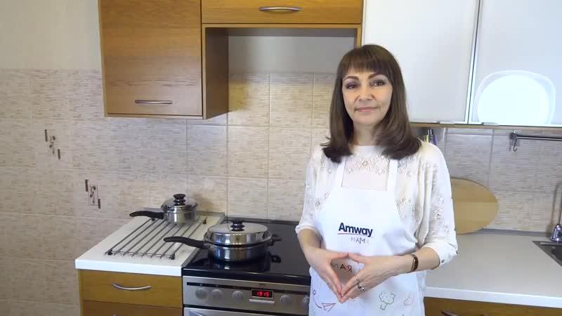 Как пожарить мясо в сотейнике айкук. Рецепты iCook. Полезное питание. (720p).mp4