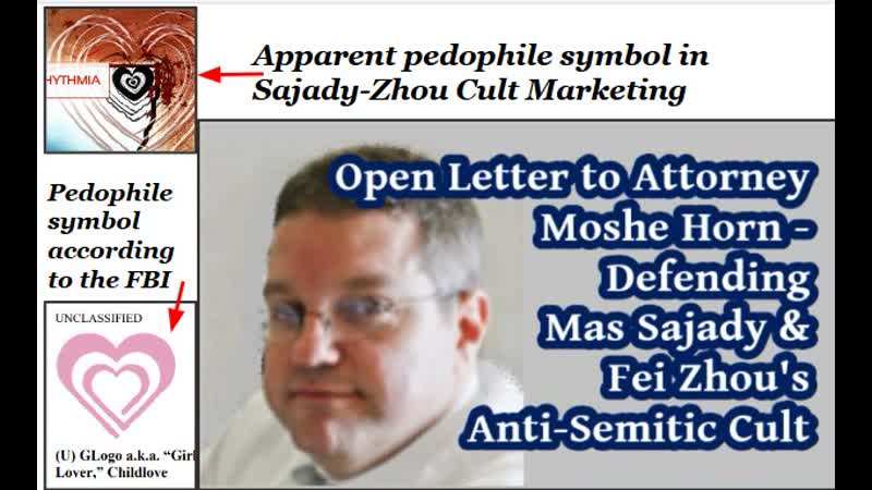Open Letter to Moshe Horn – Defends Anti-Semitic Cult of Mas Sajady Fei Zhou