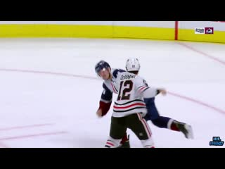 Alex debrincat fights samuel girard