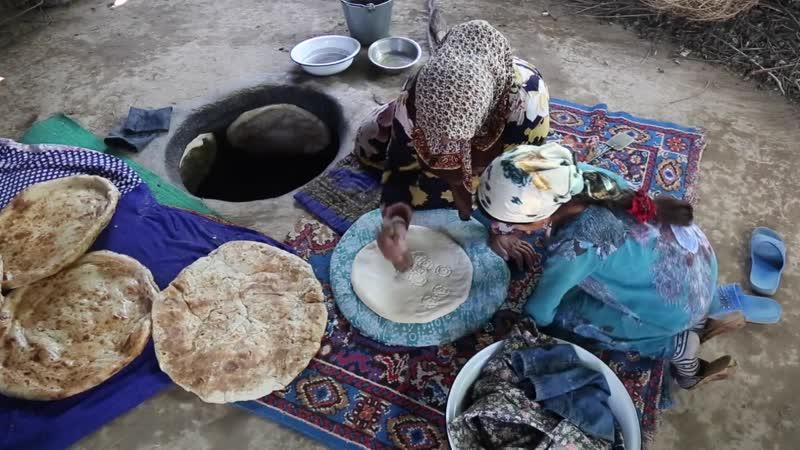 National Geographic Baking Bread in Tajikistan