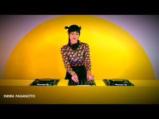 Indira Paganotto - Live  Techno Club, Latinoamérica