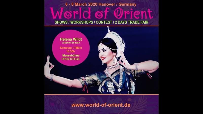 Helena Wildt Lakshmi Sundari Battu nritya indian classical dance Odissi style