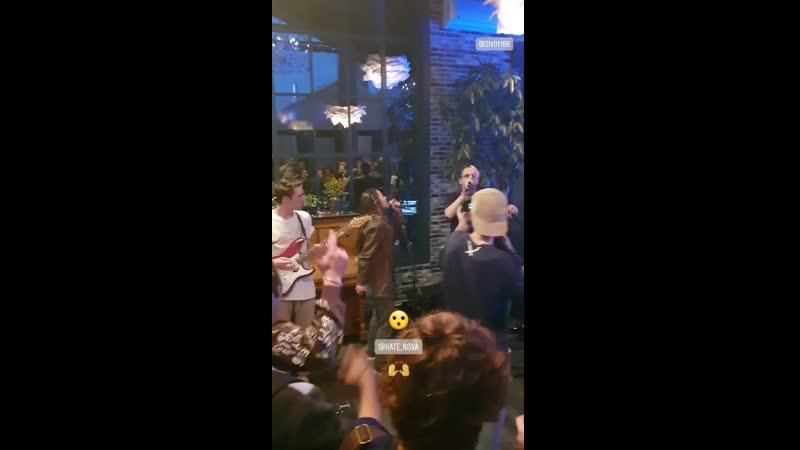 Jivoy feat. Kate Nova - 911 (Wyclef Jean cover) сольный концерт в Над Москвой