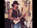 Anything 'Cept the Truth by Eagles of Death Metal on a 3 String Cigar Box Guitar Rob Bourbon