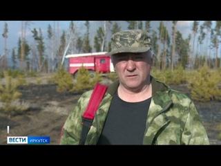 Очень вредная привычка. В Иркутском районе пастух не затушил сигарету и в результате спалил поле