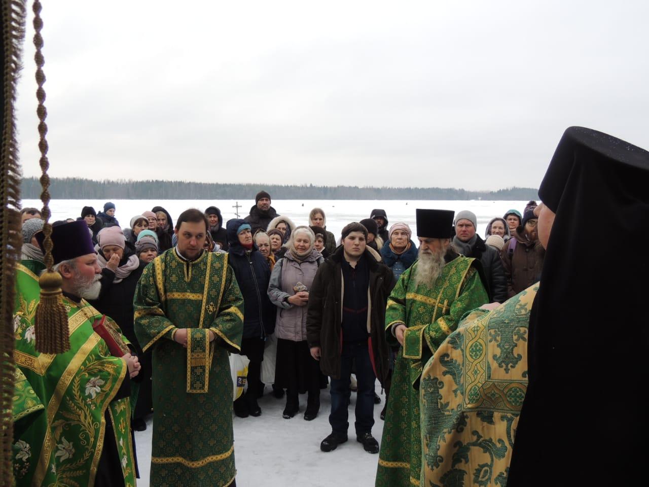 30-го января, в День памяти преподобного Антония Дымского, наши прихожане во главе с о.