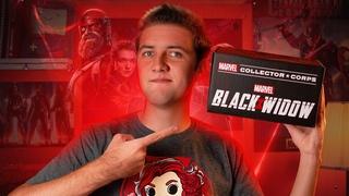 Распаковка Marvel Collector Corps: Black Widow. Посылка из США. Что было в коробке?