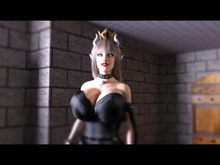 Bowsette belly inflation