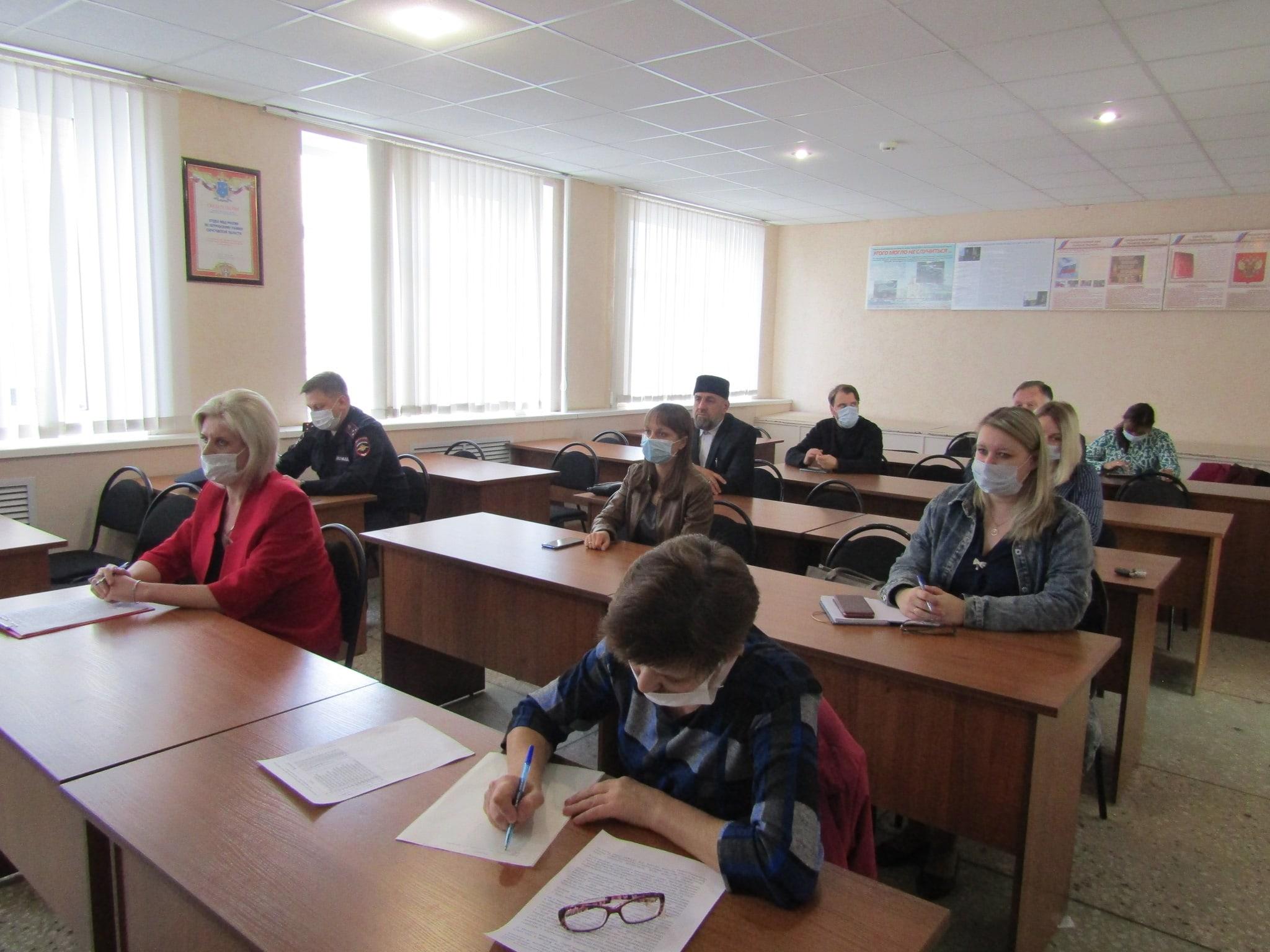 В отделе МВД России по Петровскому району состоялось очередное заседание Общественного совета