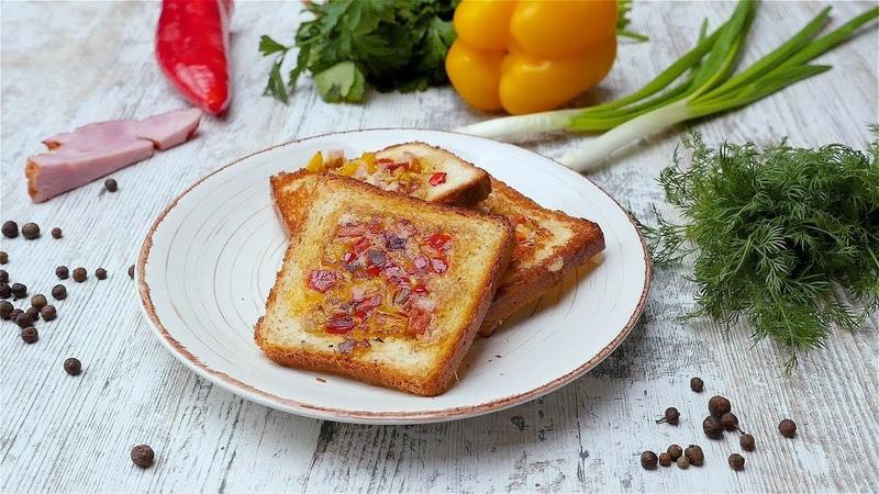 Горячие бутерброды с сыром на сковороде Рецепты от Со Вкусом