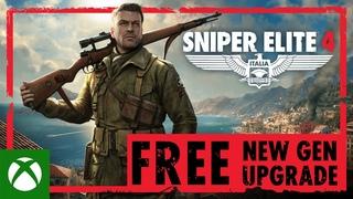 Sniper Elite 4 - FREE New Gen Upgrade   Xbox Series X S