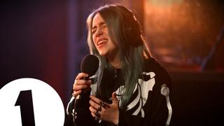 Billie Eilish - ocean eyes on Radio 1