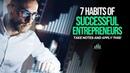 7 Principles of Success For Entrepreneurs - TAKE NOTES!
