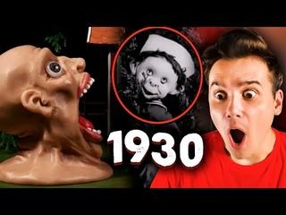 АНИМАЦИЯ из 1930-ГО ГОДА 😓🔪 Stop Motion Animation *Реакция* 😟 Пластилиновый мультик   Рома Субботин