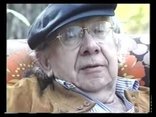 """Фрагмент из фильма """"Геннадий Рождественский. Сентябрь 2001"""", снятый кинокомпанией Лефемар в том же 2001 году."""