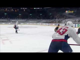 Alex Ovechkin's pefect assist on Tom Wilson's goal vs Bruins (2021)