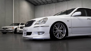 Toyota Crown Majesta V8 UZS186 imported and sold by JDMHQ