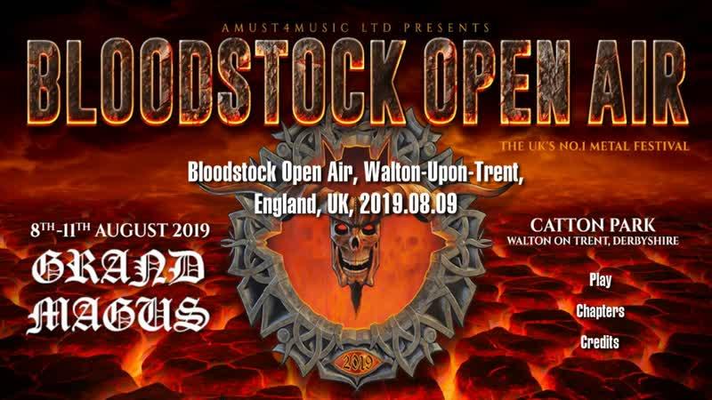 Grand Magus - 2019-08-09 - Bloodstock, Walton-Upon-Trent, England, UK