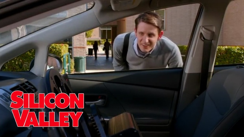 Jared gets stuck in driverless car Silicon Valley