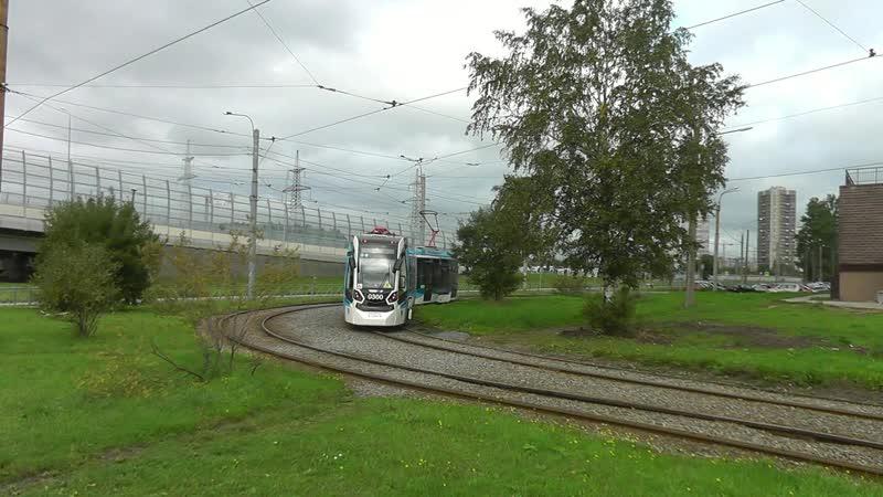 Трамвайный вагон Stadler B85300M Метелица