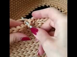 Отличная техника вязания крючком