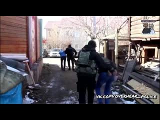 Задержание троих грабителей в Иркутске