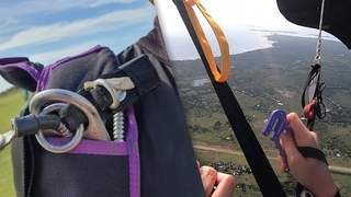Friday Freakout: Skydiver Slashes Main Parachute With Hook Knife, Avoids Entanglement With Reserve