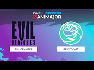 Evil Geniuses vs beastcoast - Game 1, Group Stage - weplay esports ANIMAJOR 2021