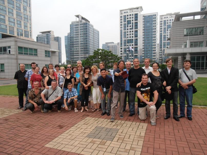 Гастроли в Южной Корее. 2013 г.