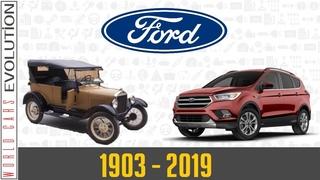 . - Ford Evolution (1903 - 2019)