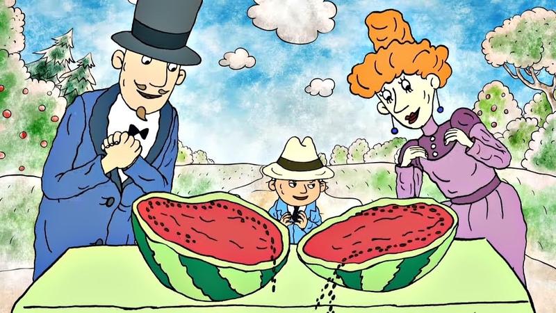 Мальчик Чапайчик и Во саду ли в огороде Альманах Веселые биографии