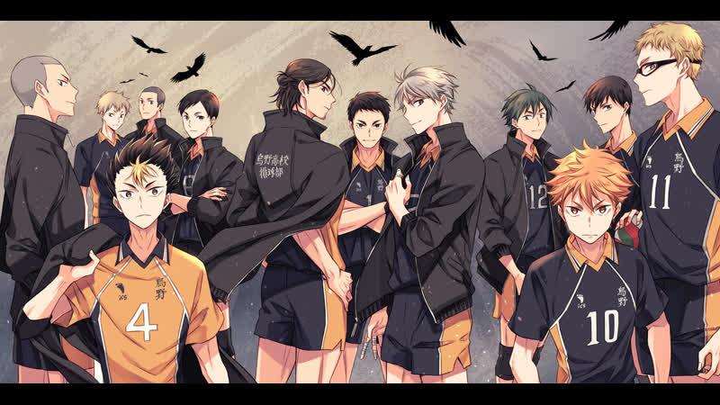 Волейбол Кагеяма и Хината
