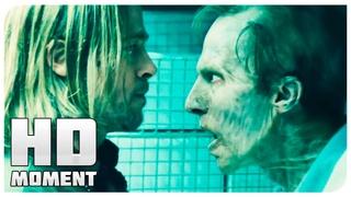 Джеральд вводит себе инъекцию - Война миров Z (2013) - Момент из фильма