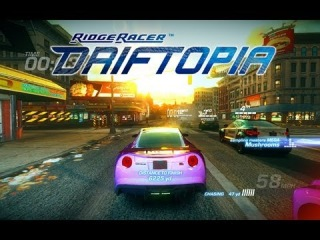 RIDGE RACER Driftopia - Free To Play Online Racing Game 2013