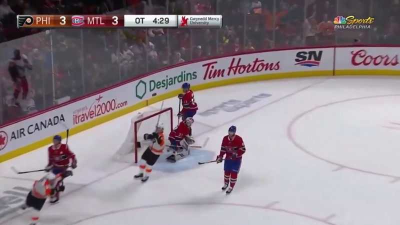 Ivan Provorov FILTHY Dangle on Coast-to-Coast OT Game Winning Goal! | Flyers vs Canadiens 11.30.19