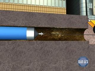 Ремонт трубопровода методом труба в трубе без разрушения