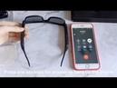 New arrival high level Smart Glasses Hands Free Calling Music Audio Open Ear Sunglasses
