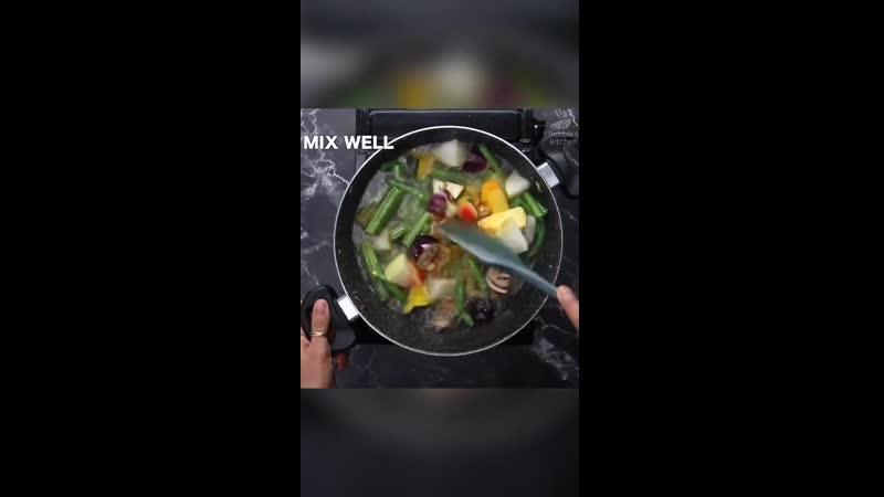 Temple style sambar recipe no onion no garlic vegetable sambar