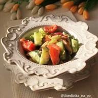 id_56637 Салат с курицей и овощами 🥗  Быстрый, вкусный, простой 👍🏻  Автор: blondinka_na_pp_  #gif@bon