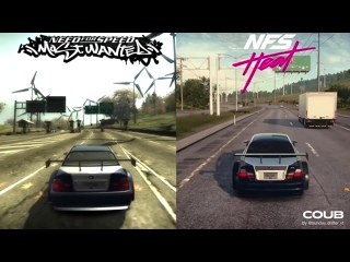 NFS HEAT VS NFS MOST WANTED