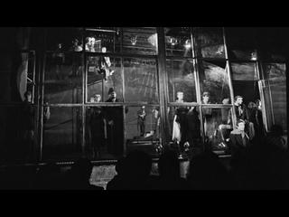 """""""Дом на набережной"""", 1995, фрагмент репетиции спектакля театра на Таганке"""