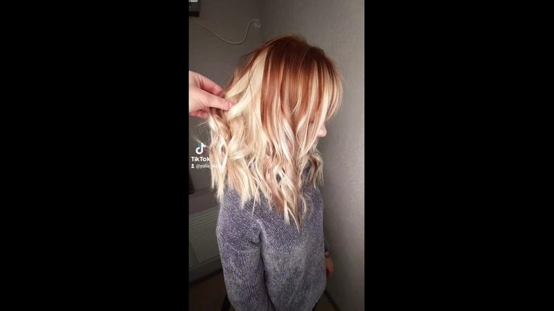 Блондинка в шоколаде🤍 🤎🍫