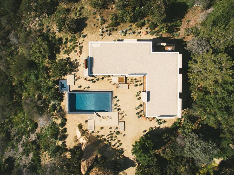 The Saddle Peak House by Michael Sant,