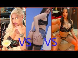 Bridgette B VS Taylor Dark VS Luna Star 🔞