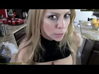 ПАРЕНЬ ЖЕСТКО ТРАХАЕТ ЗАСТРЯВШУЮ МАЧЕХУ РАКОМ НА СТОЛЕ порно секс зрелые блондинка porn sex mom milf blonde Alexis Fawx