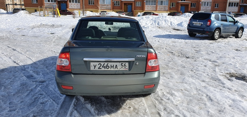 В продаже приора 2011 г.в.  Пробег 163000, 2эсп, | Объявления Орска и Новотроицка №17012